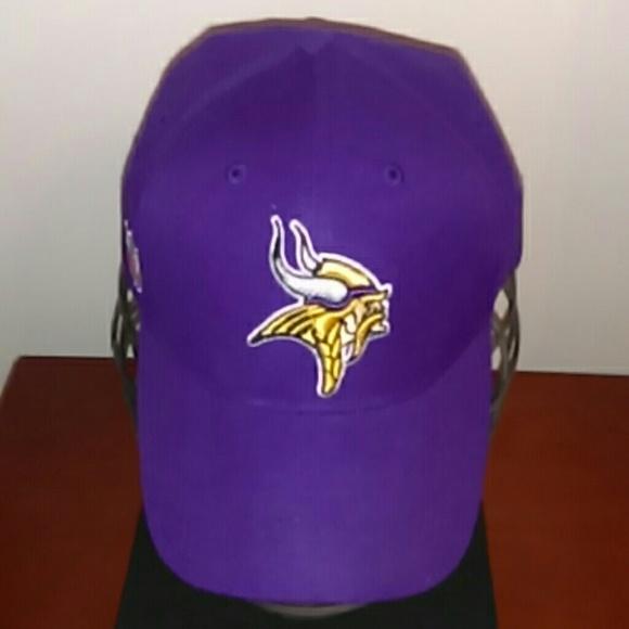94a26f1c0 Minnesota Vikings Football Mens Adjustable Hat